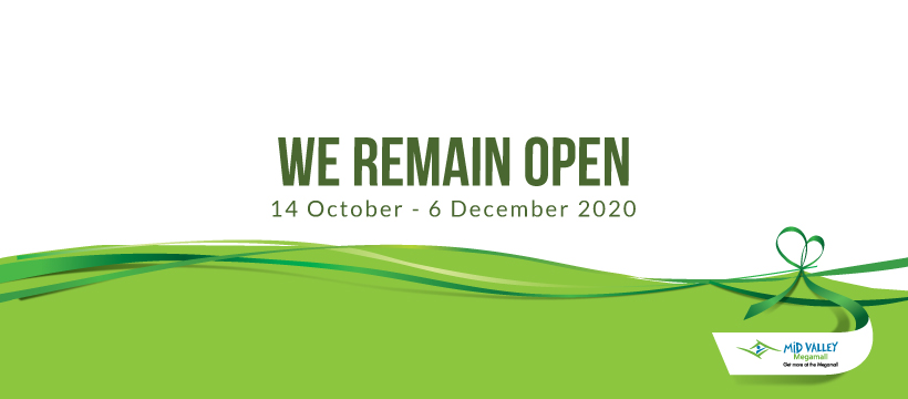 We Remain Open
